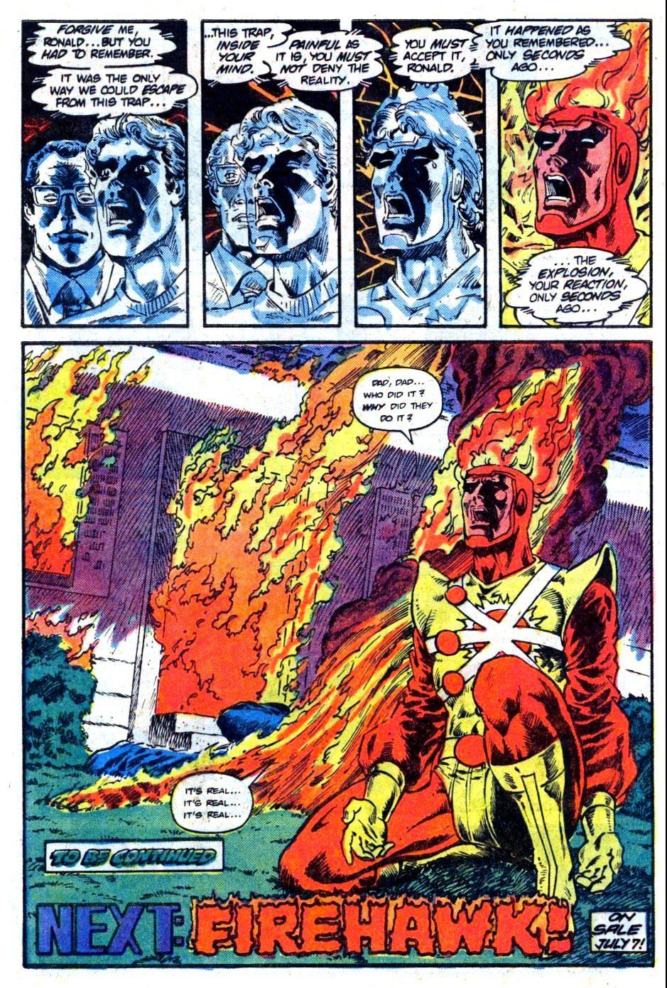 Firestorm in grief